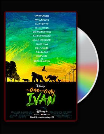 دانلود انیمیشن ایوان یکتا دوبله فارسی the one and only Ivan