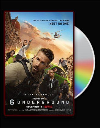 دانلود فیلم 6 زیرزمین با دوبله فارسی 6 Underground 2019 با لینک مستقیم